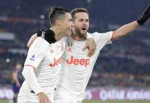 Juventus vence a la Roma y es líder