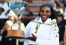 Serena Williams, campeona del Abierto de Auckland