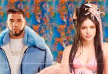 Shakira estrena Me gusta al lado de Anuel AA