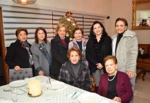 Socias del Club de Jardinería Cactus festejan por el 2020