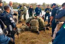 Mueren 4 militares tras caer vehículo a canal de Tamaulipas