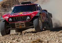 Sainz aumenta su liderato en el Rally Dakar