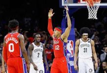 Con 34 de Tobias Harris, 76ers se impusieron a Nets