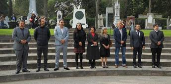 Conmemoran aniversario luctuoso de Siqueiros