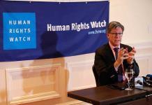 """HRW: México, en """"catástrofe humanitaria"""""""