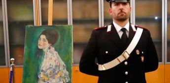 Confirman la autenticidad del cuadro de Klimt escondido en un muro de un museo italiano