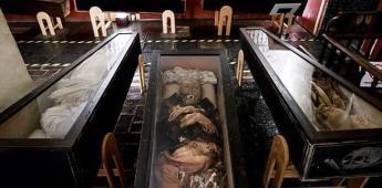 El misterio de las momias del museo mexicano de El Carmen