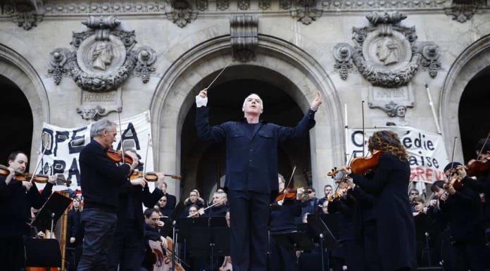 La Ópera de París homenajeará al personal de salud que luchan contra la COVID-19'>