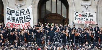 Concierto protesta de la Ópera de París