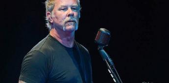 Vocalista de Metallica reaparecerá tras rehabilitación