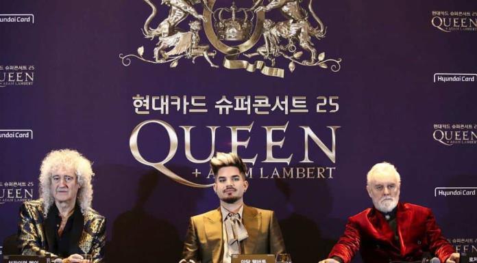 Queen inicia su gira Rhapsody en Seúl'>