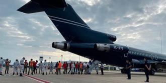 Regresan a Honduras primeros 250 migrantes de la caravana detenidos en México