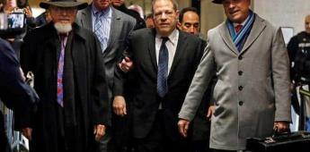 Comienza juicio de Weinstein por violación