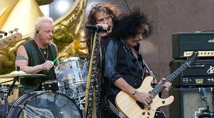 Baterista de Aerosmith demanda para unirse a banda en show'>