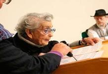 """""""No te rindas, no se rindan"""", pide Conchita de Nava a Sicilia y a los que van a Palacio Nacional"""