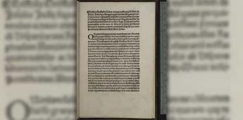 EEUU recupera copia de carta de Colón de hace 500 años