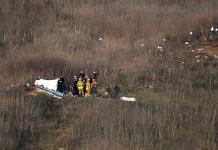 Helicóptero de Kobe Bryant voló con permiso especial a pesar del mal clima
