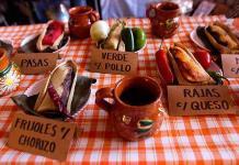Para cumplir con la  Candelaria, la Feria del Tamal en Coyoacán