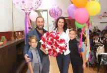Olesia Shevchenko celebró ¡en grande! su cumpleaños