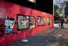 Vandalizan mural de Sarah Andersen en la CDMX