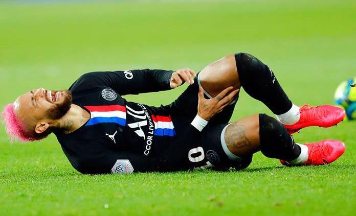 Inquietud en el PSG por la posible ausencia de Neymar en partido de Champions League