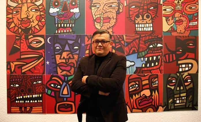 Charlie Ramírez exhibe creativas obras plásticas