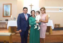 Juan Manuel Wogñis Escobedo recibe el bautismo