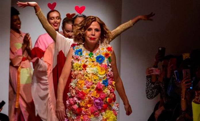 Ágatha Ruiz de la Prada lleva su arcoiris a la pasarela latina de Nueva York