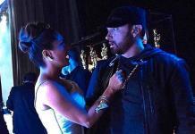 Salma Hayek difunde anécdota con Eminem