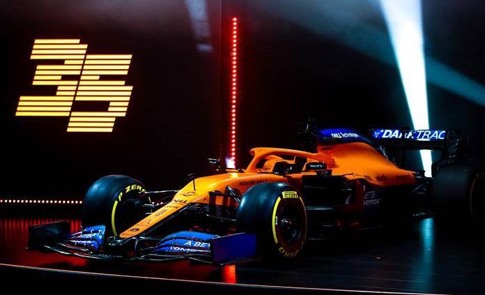 McLaren presenta su nuevo monoplaza para el campeonato 2020