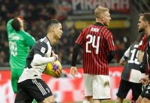 Penalti de Cristiano da al Juventus un empate 1-1 en la semifinal de ida ante el Milan
