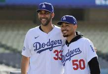 Dodgers presentan a Betts y Price antes de viajar a Arizona