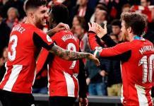 El Athletic vence a Granada, en ida de semifinal de Copa