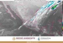 Esperan lluvias muy fuertes en Veracruz, Oaxaca y Tabasco