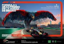 Revelan carteles del Gran Premio de México en F1