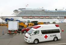 Reportan ocho personas graves por Covid-19 en crucero anclado en Japón
