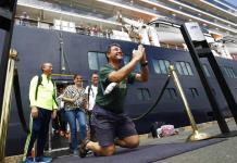 Los pasajeros del crucero Westerdam desembarcan en Camboya tras ser rechazados por cinco países