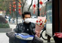 El amor en los tiempos del coronavirus (FOTOS)