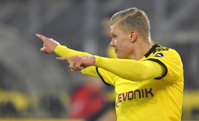 Otro gol de Haaland y Dortmund aplasta 4-0 a Frankfurt