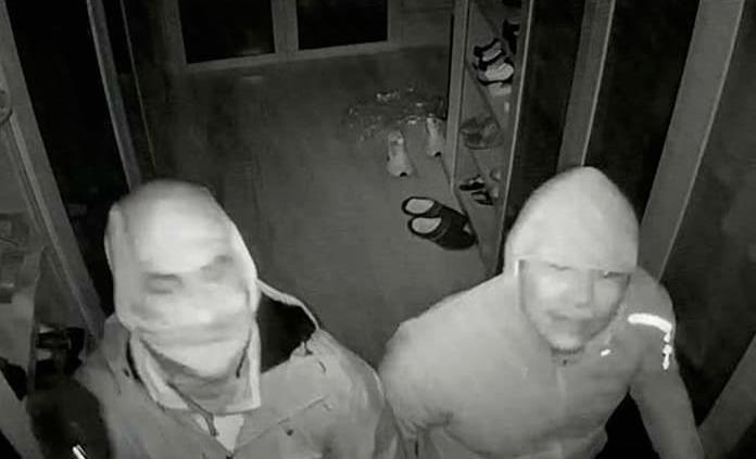 Ladrones saquean vivienda en la Col. La Loma Club de Golf