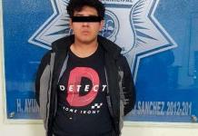 Detienen a un hombre armado en Chedraui