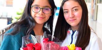 Compañeros del Instituto Potosino festejaron el Día del Amor y la Amistad