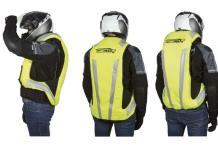 ¿Airbag para motociclistas?