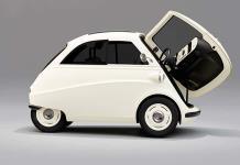 El micro Isetta revive, eléctrico y con luces led