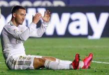 Hazard reconoce que su primera temporada en el Real Madrid se echó a perder
