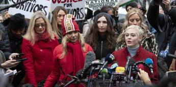 Víctimas de Weinstein expresan alivio