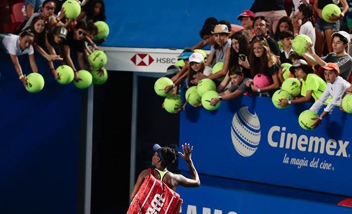 Kaja Juvan sorprende y elimina a Venus Williams en Acapulco