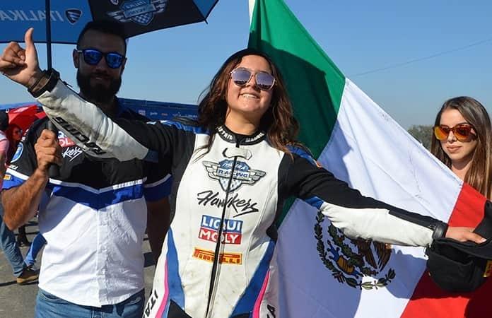 La campeona mexicana Astrid Madrigal.