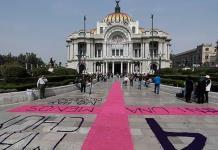 Palacio de Bellas Artes llama a la no violencia contra las mujeres