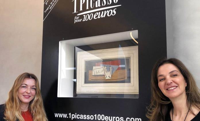 Millonario dice adiós a Picasso en una rifa